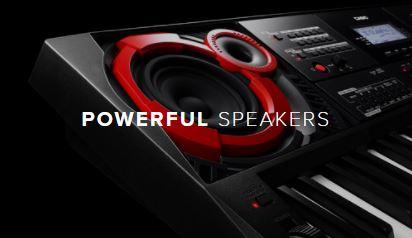 Casio CT-X5000 PowerfulSpeakers