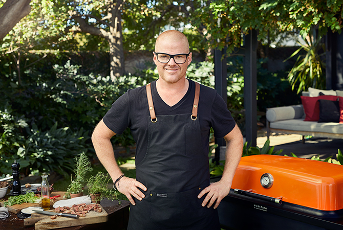 BlackBooks: Heston Blumenthal is doing very fasionable barbecue grills