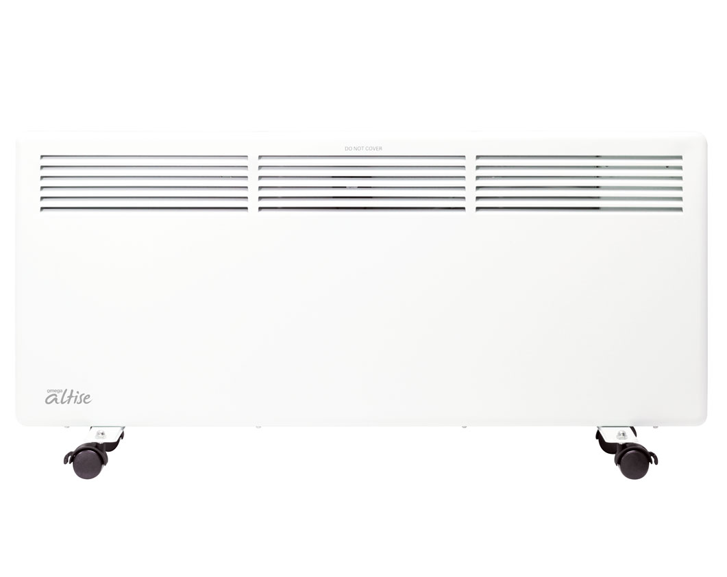 Omega Altise product Panel Heater - Bone White 2200W  AHPE222W