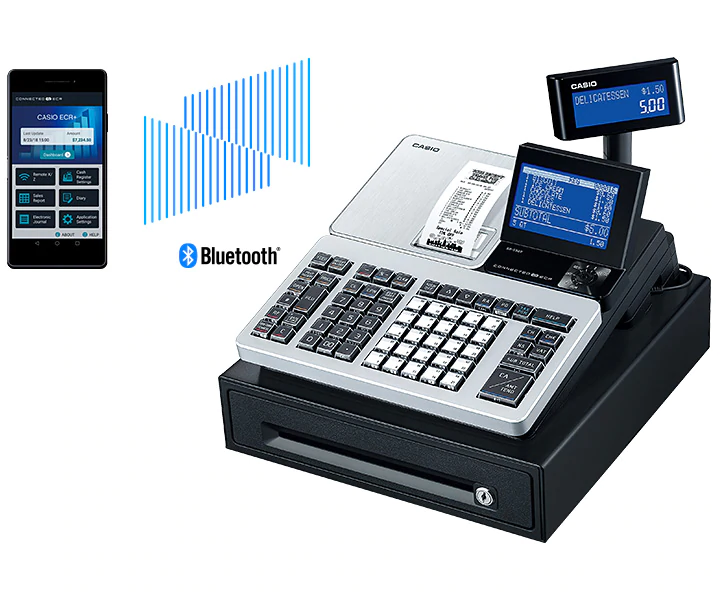 CASIO ECR & POS Australia Product BLUETOOTH SR-S500S