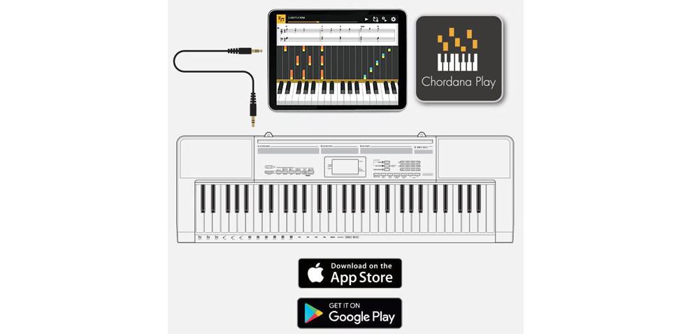 piano style keys