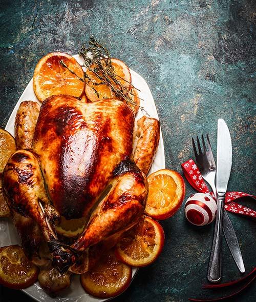Jamaican jerk turkey on the FUSION or HUB