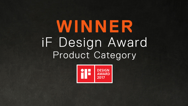 Two iF Design Awards 2017