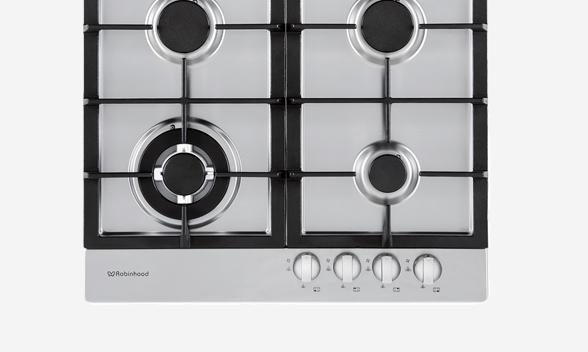 4 burner gas cooktop