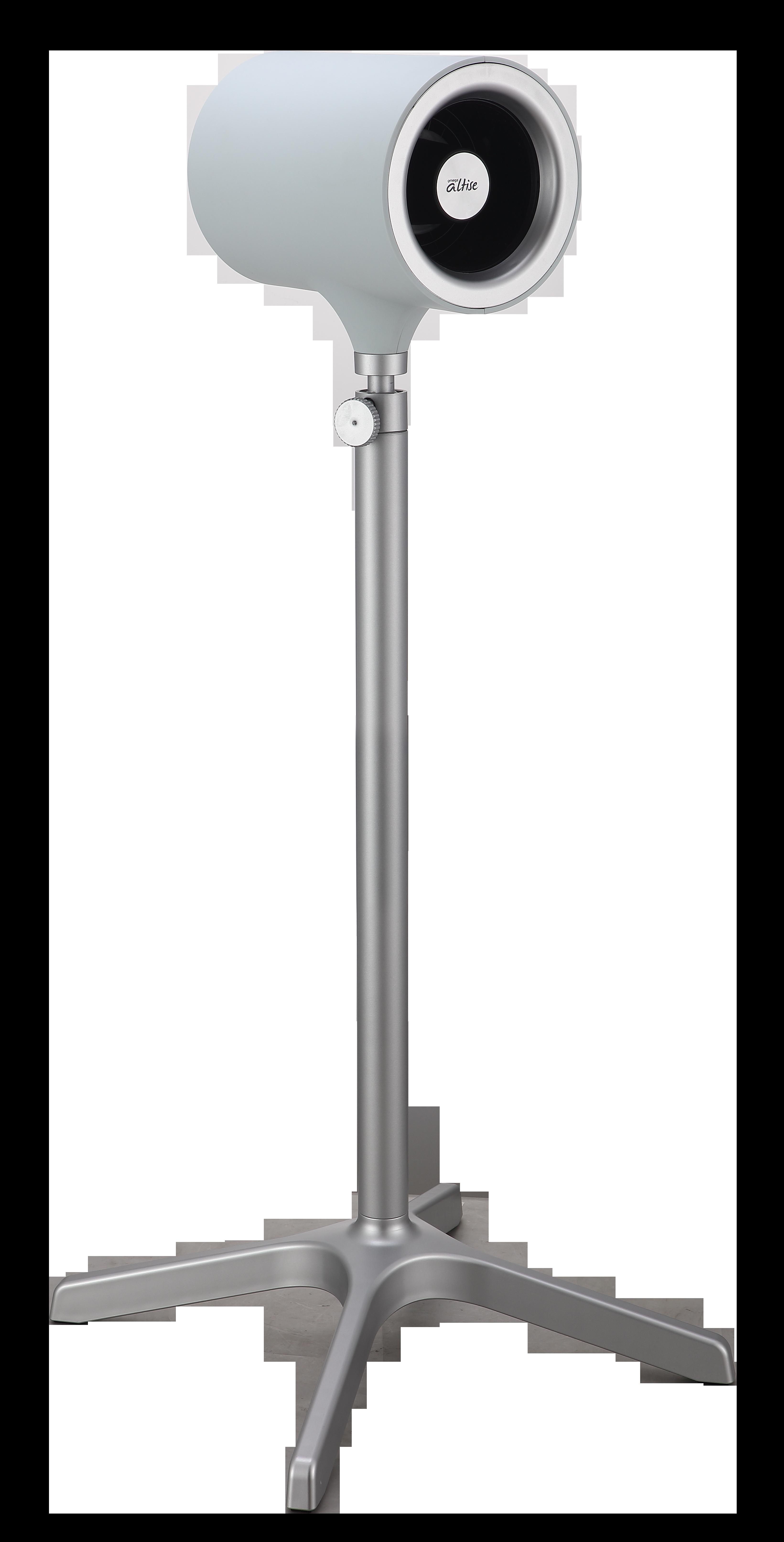 Omega Altise product Aura Pedestal Fan 12.5cm - WhiteOP125W