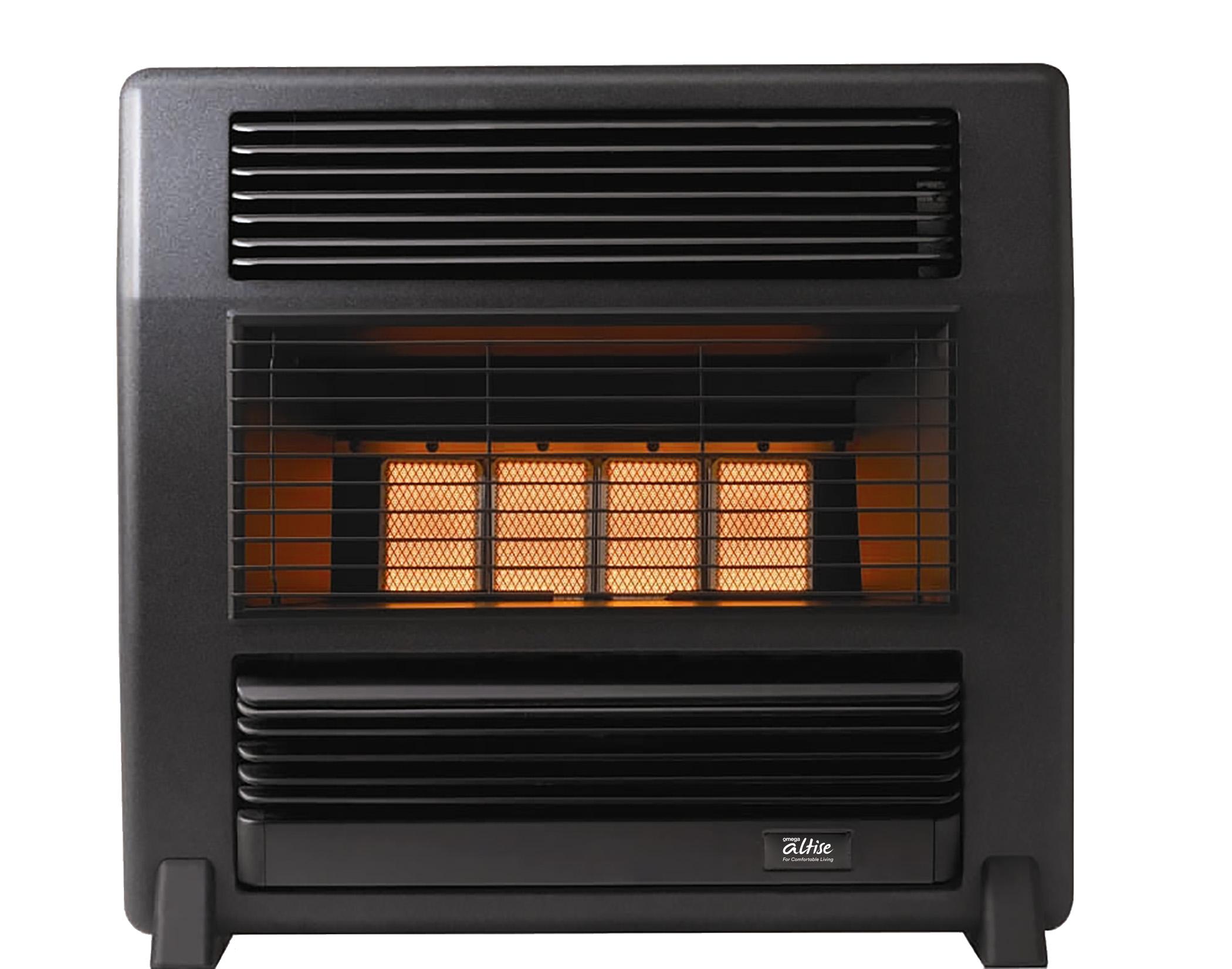 Omega Altise Product Radiant / Convector Heater LANCER(15MJ/h)