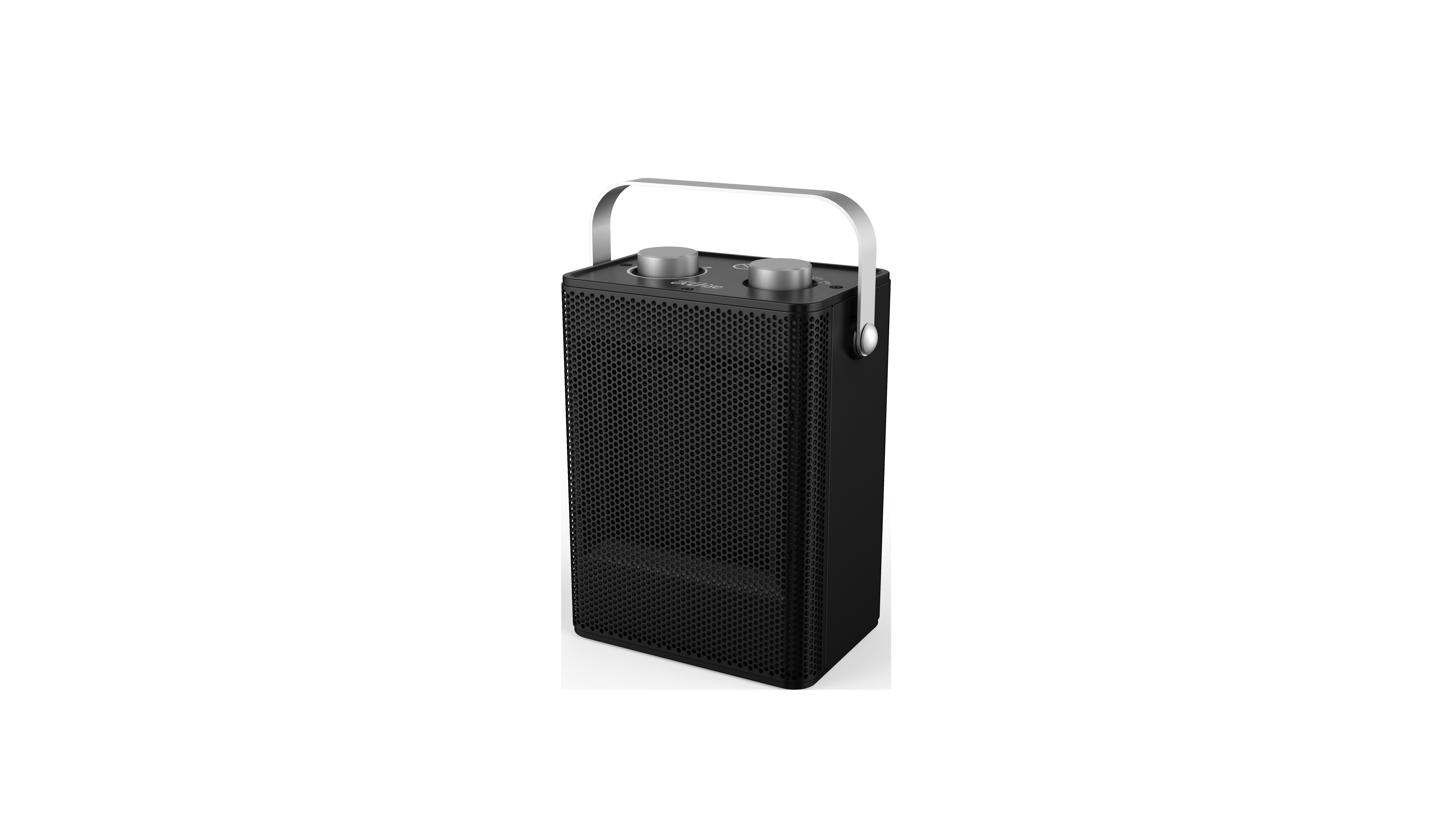 Omega Altise product Portable Ceramic Heater - BlackOACHM15B