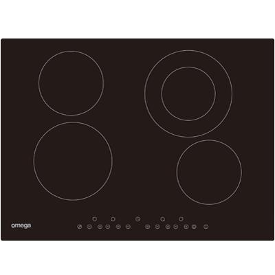 Omega Cooktops OCC70TZ - 70CM CERAMIC