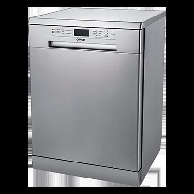 Omega Dishwashers ODW717X - 60CM S/S FINISH
