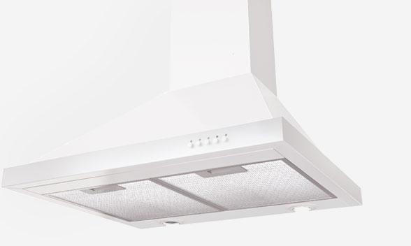 RWC 600 Wall Canopy White