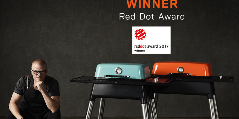 Multiple Red Dot wins for Everdure by Heston Blumenthal