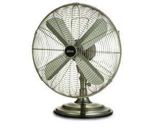 Omega Altise product High Velocity 40cm desk fan SATINDESK40