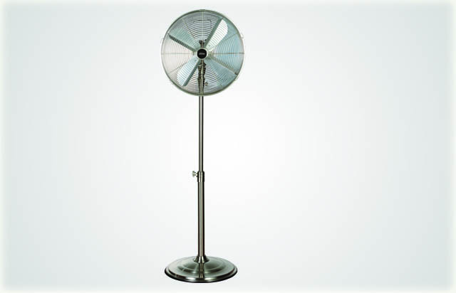 Omega Altise Product High Velocity Pedestal Fan 40cm(SATINPED40)