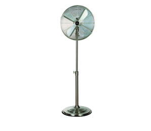 Omega Altise product High Velocity Pedestal Fan 40cm SATINPED40