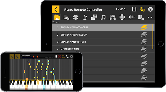 Casio Chordana Play app expands the capabilities of the PXS3000