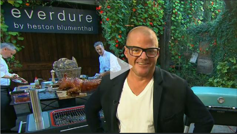 Heston on the TODAY Show