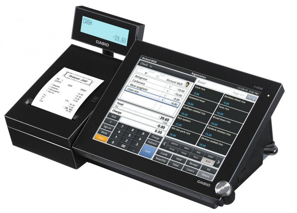 CASIO ECR & POS Australia Product VR200