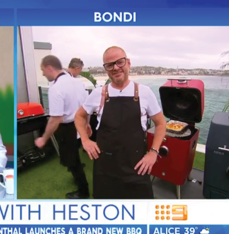 Heston Blumenthal launches the 4K - TODAY Show