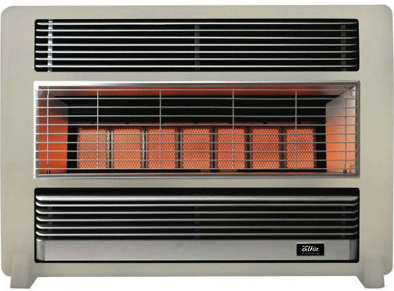 Omega Altise product 'Brigadier' Portable Gas Heater25MJ/h Sand Dune