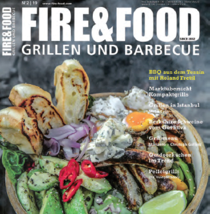 FIRE & FOOD GRILLEN UND BARBECUE