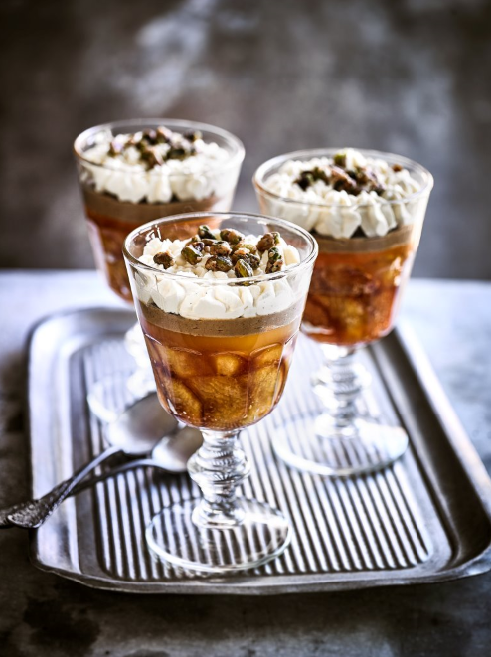 GRILLED FRUIT TRIFLE