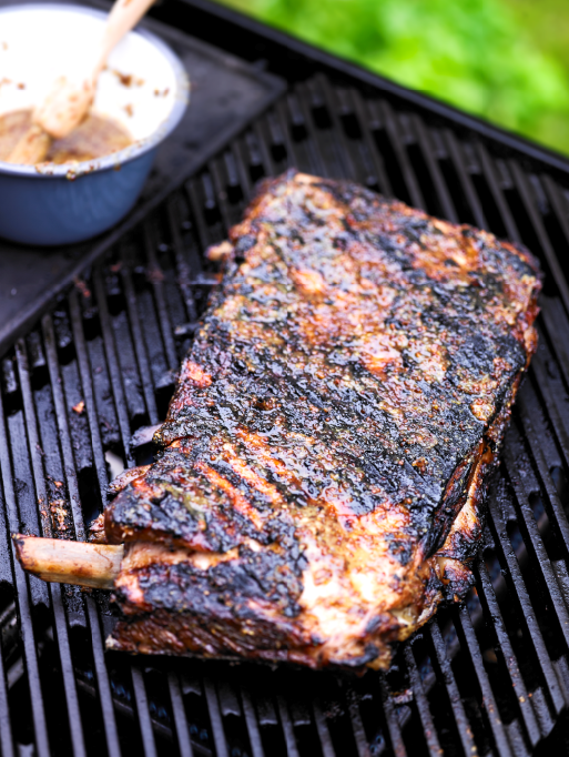 HONEY AND MUSTARD PORK RIBS