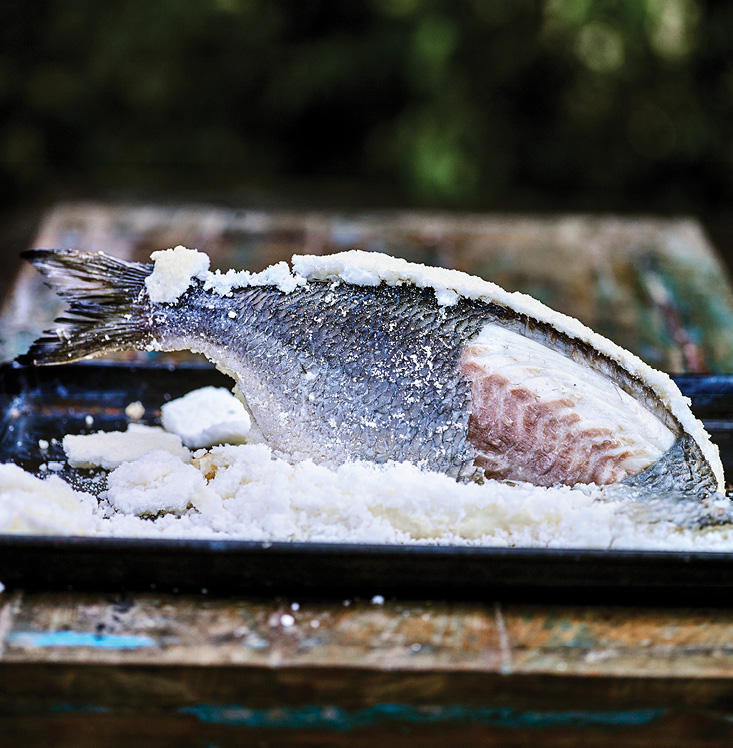 4K - SALT BAKED BREAM