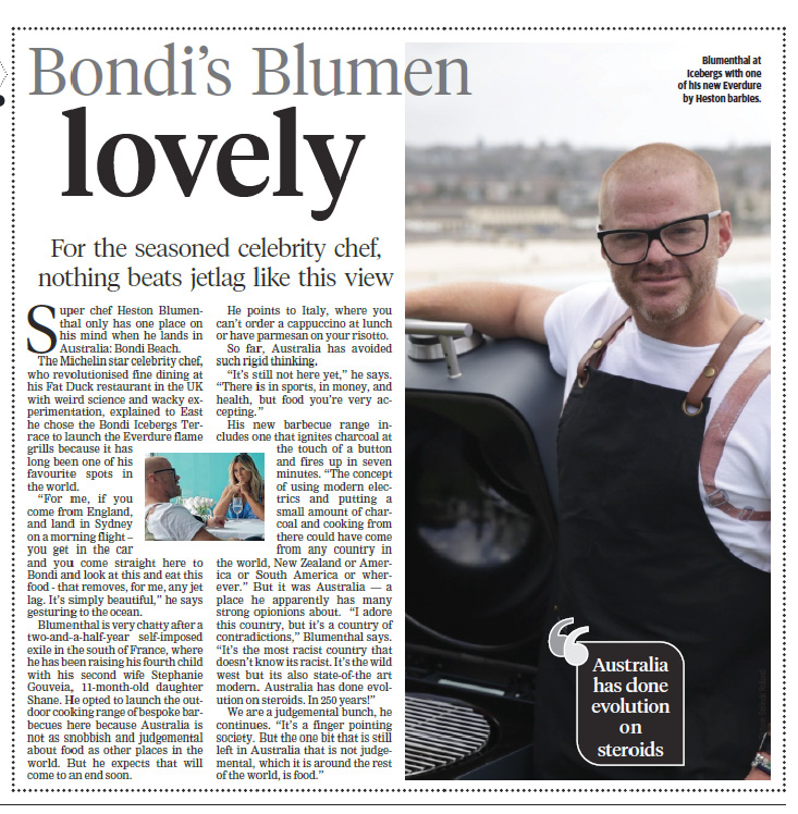 WENTWORTH COURIER / EAST: Bondi's Blumen Lovely