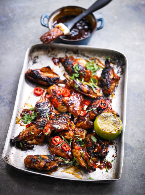 SPICY CHIPOTLE CHICKEN WINGS