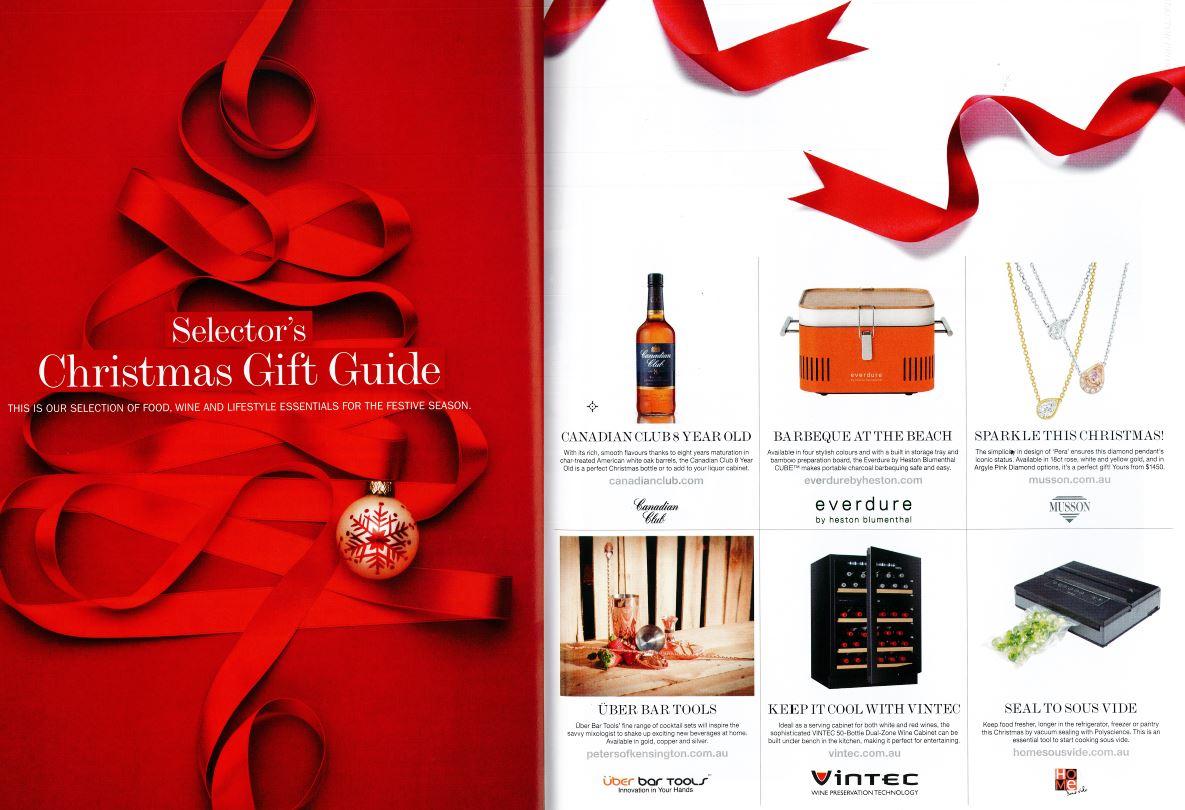 Selector Magazine - Range feature